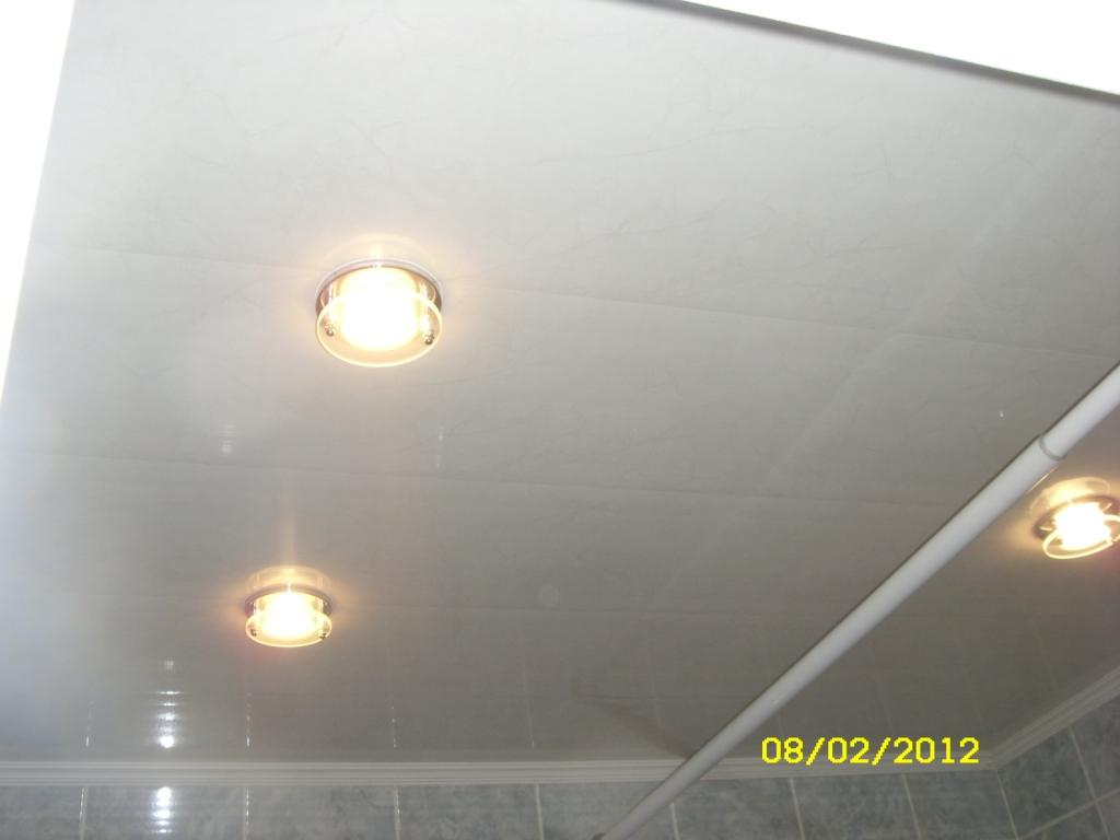 Suspended Ceiling In Bathroom