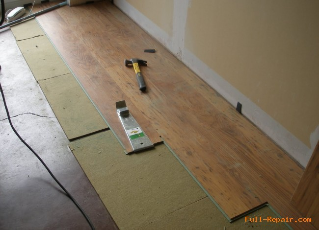 Laminate Flooring Swelling Repaird Laminate Installation Repair