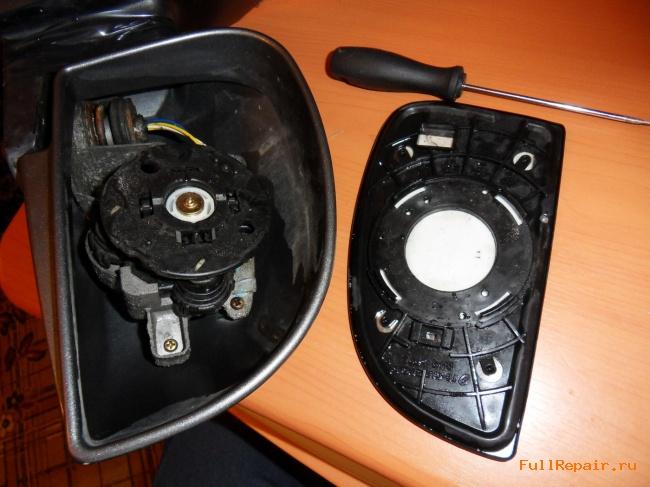 Heating Mirror For Hyundai Getz By Own Hands