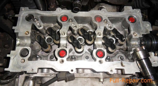 Cylinder Head Installation To Crdi Engine