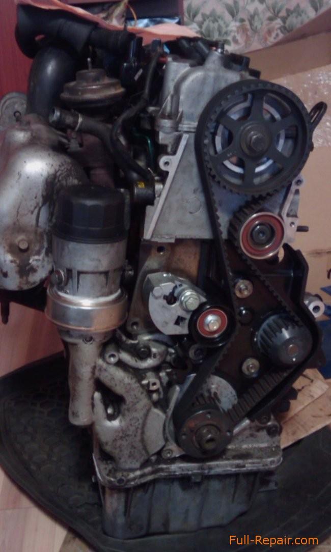 Timing Belt Replacing Of Crdi Engine